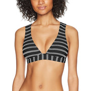 Inka Stripe Longline Triangle Bikini Top