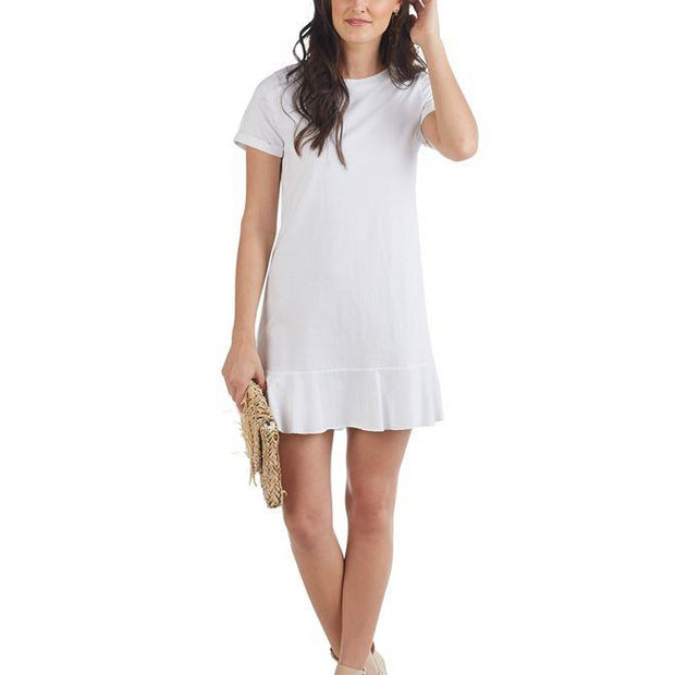 White T Shirt Dress