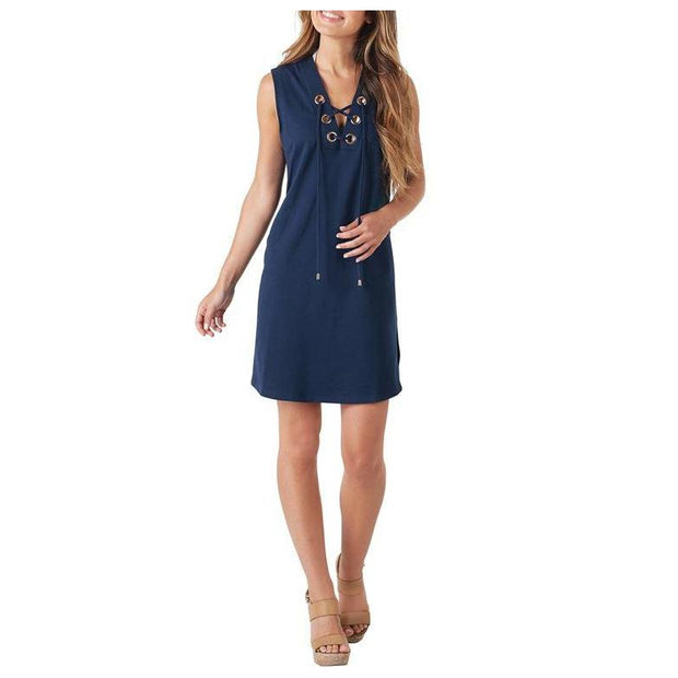 LULU LACE UP COVER UP