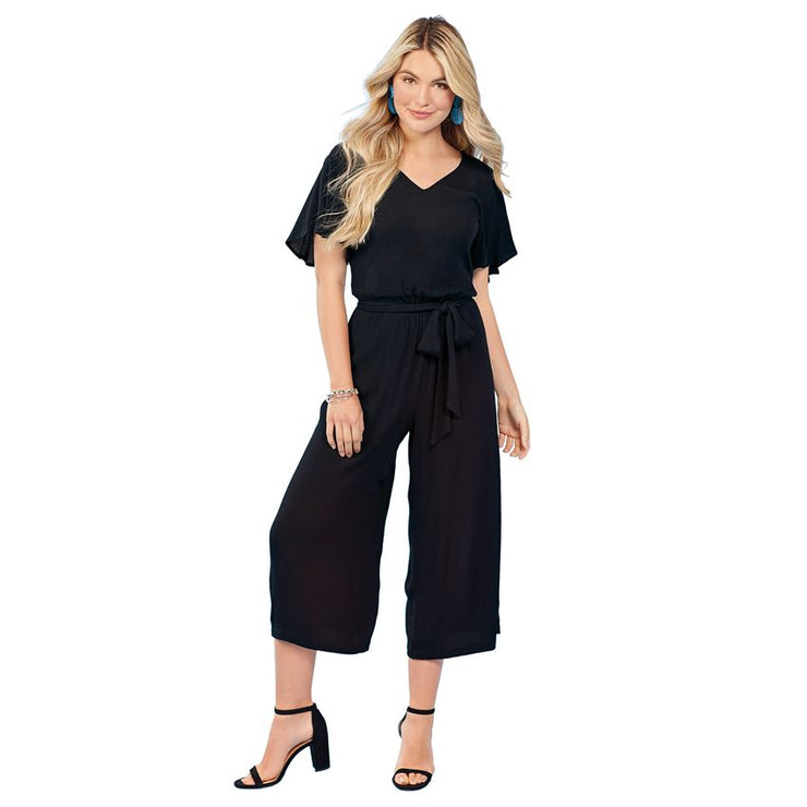 Black Julie Jumpsuit