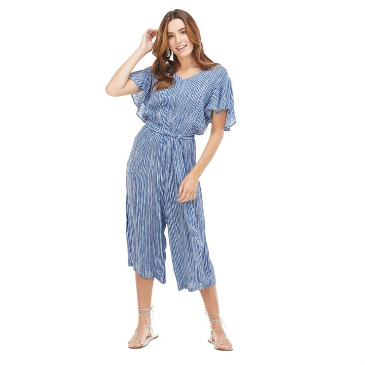 Blue Stripe Julie Jumpsuit