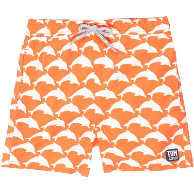 Boys Dolphin Swim Trunks