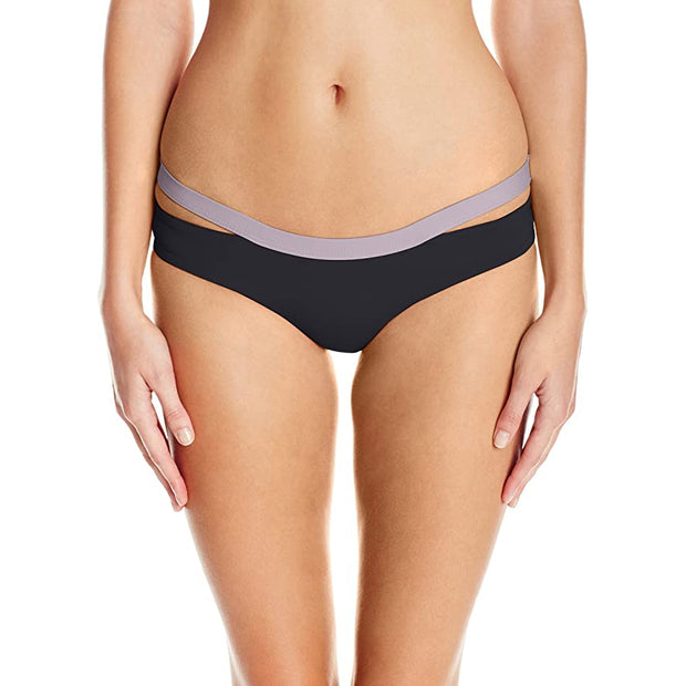 Color Block Hollywood Bikini Bottom