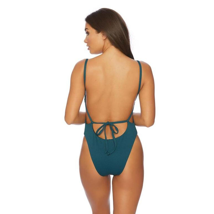 Wildflower Solid Square Neck One Piece
