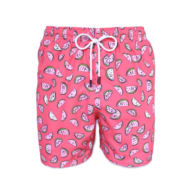 Fresh Slices Mens Swim Trunks