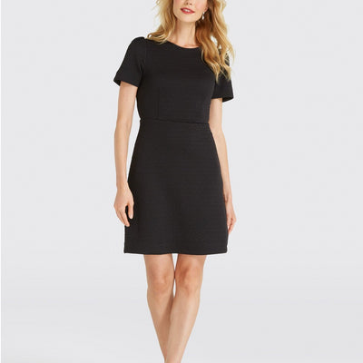 Diamond Knit Sheath Dress