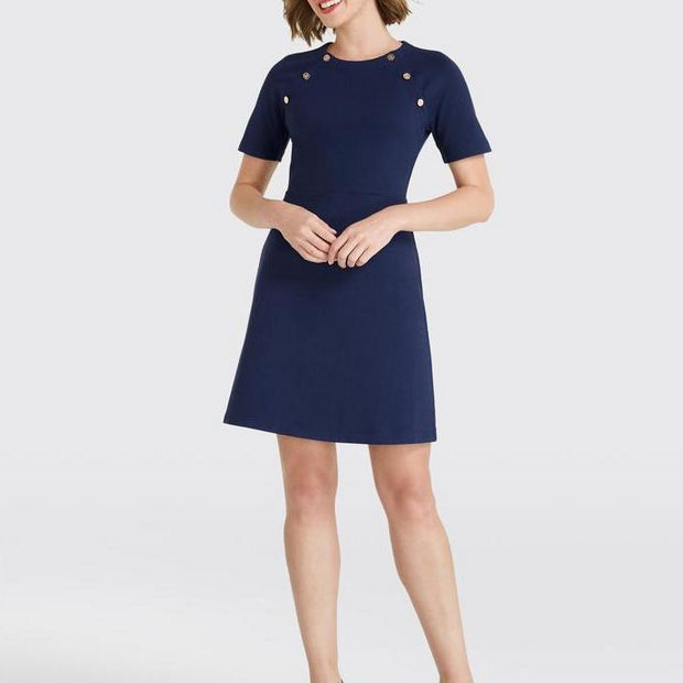 Sailor Knit Dress