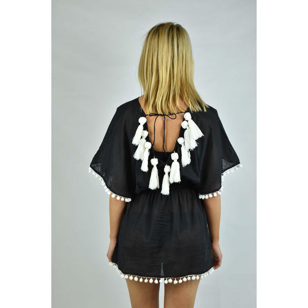 Kiara Pom Pom Cover Up