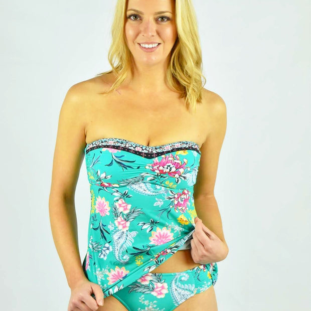 Easy Fit C/D Bandeau Singlet Tankini Top