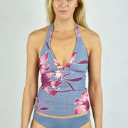 V Neck Singlet Tankini Top