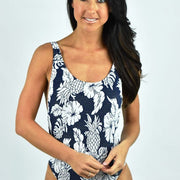 Royal Horizon Retro Tank Maillot One Piece
