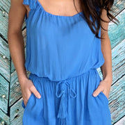 Patriot Blue Freshwater Romper