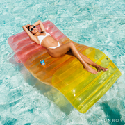 Rainbow Chaise Lounger Float