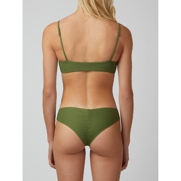 Trustworthy Green Kiki: Marrow Edge Bikini Bottom