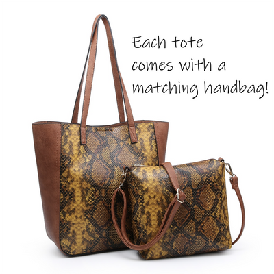 Animal Print Bag in a Bag Tote