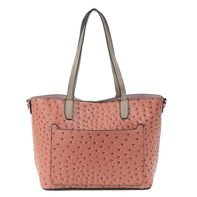Bag in Bag Textured Tote