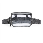 Convertible Clear Fanny Pack/Crossbody