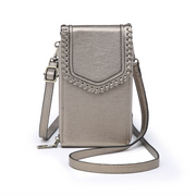RFID Whipstich Touch Screen Crossbody