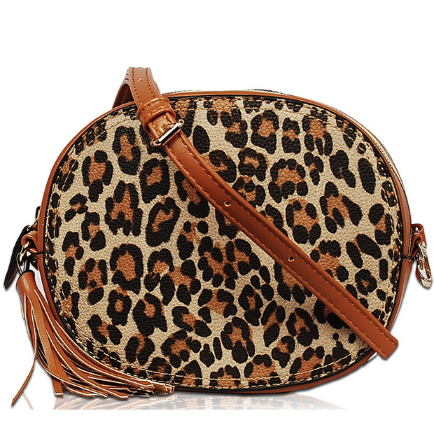 Monogrammable Leopard Crossbody