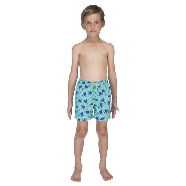 Boys Palms Swim Trunks