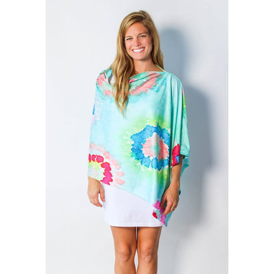 Precious Pastels Party Poncho UPF 50+