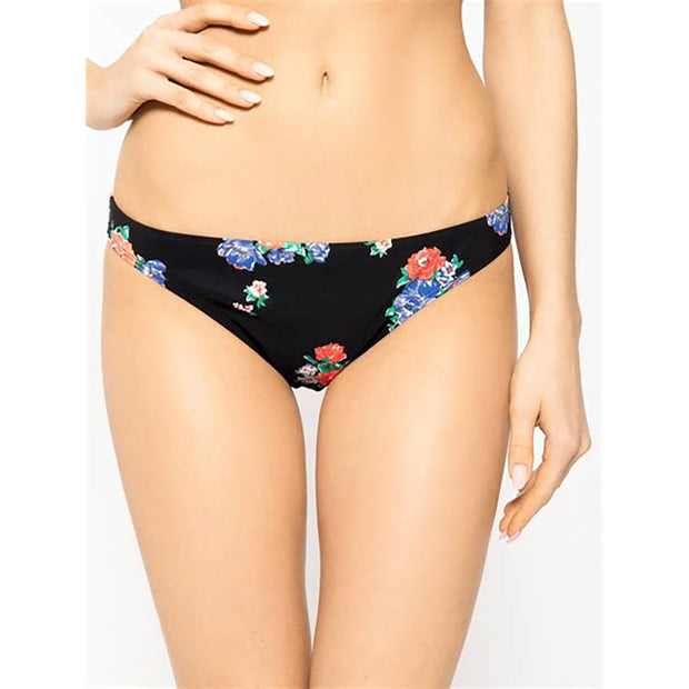 Black Tea Rose Hipster Bikini Bottom