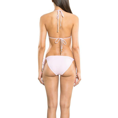 Solid Petal Clean Triangle Bikini Bottom
