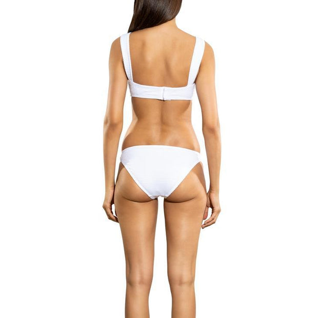 Nevada Texture Retro Ring Side Bikini Bottom