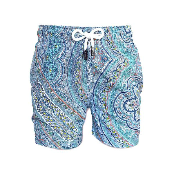 Mediterranean Mens Swim Trunks