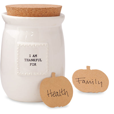 Thankful Blessing Jar Set