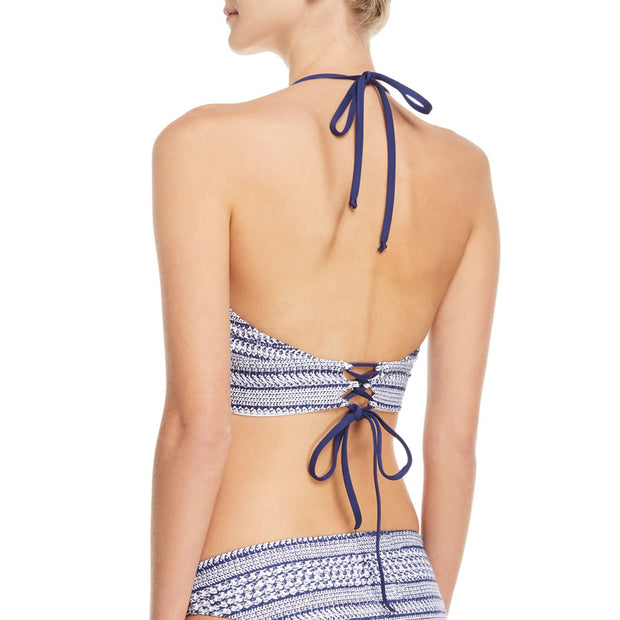 Nautical by Nature Crop Bikini Top
