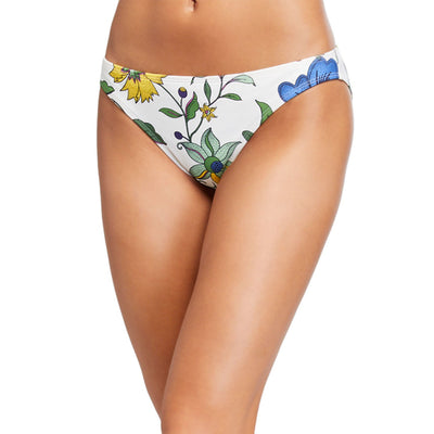 New Ivory Love Floral Hipster Bikini Bottom