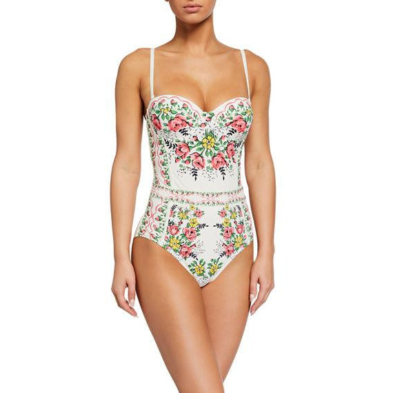 Garden Veil Lipsi Printed One Piece