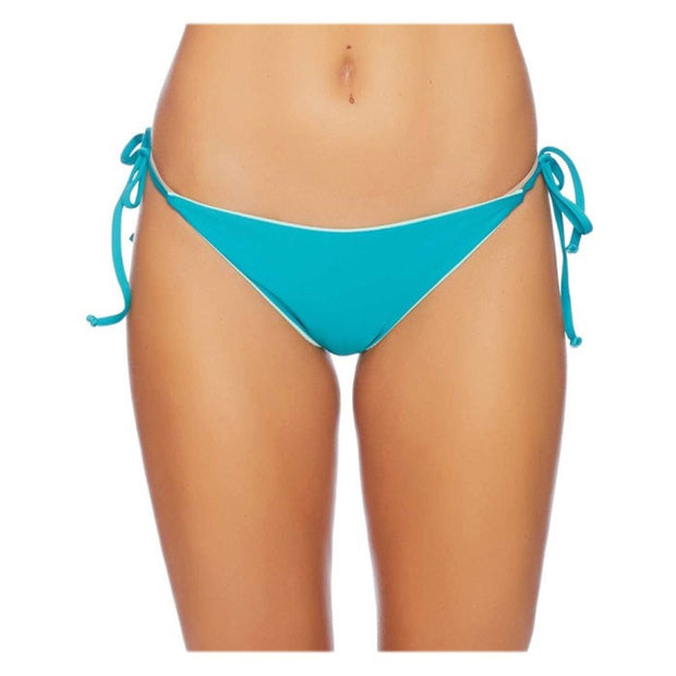 Color Blocked Reversible Side Tie Bikini Bottom