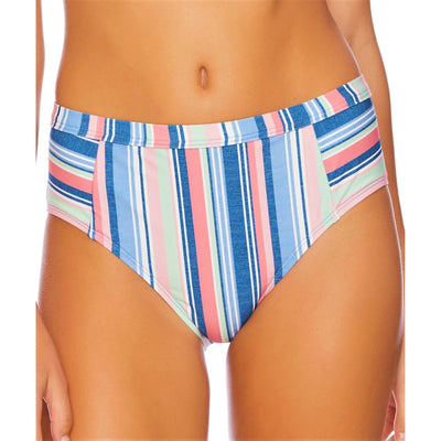 Holding Pattern High Waist Bikini Bottom