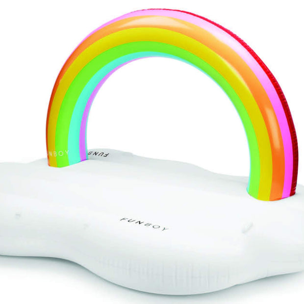 Rainbow Cloud Daybed Pool Float