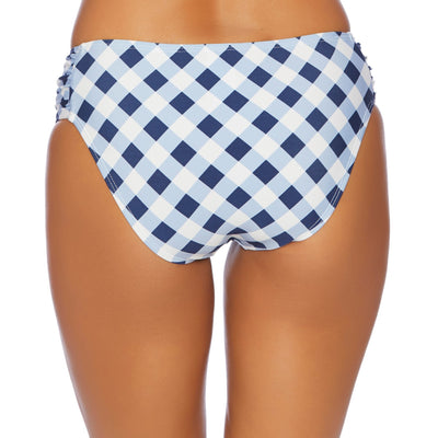 Breaking Plaid Tab Side Bikini Bottom