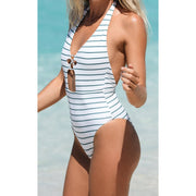 Coconut Stripe Napali One Piece