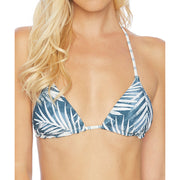 Stormy Story Reversible Triangle Halter Bikini Top