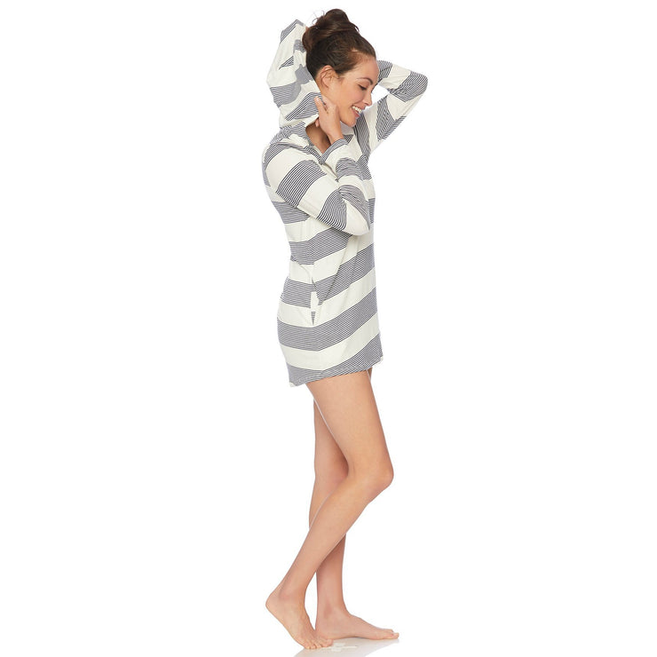 Hoodie Tunic Cover-Up