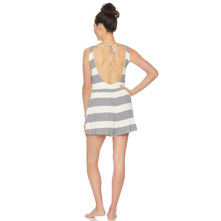 Fresh Prints Romper Cover-Up with Pockets