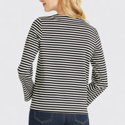 Sailor Stripe Bow Tee