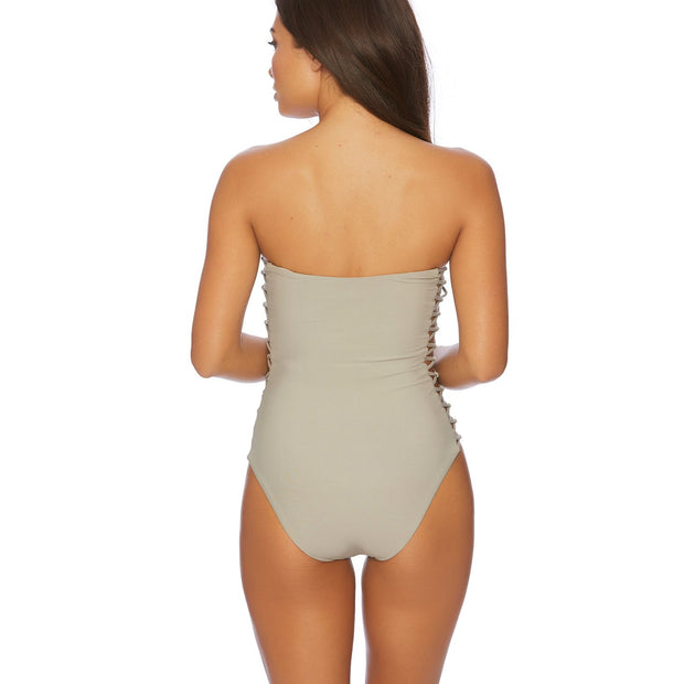 Jaws Drop Bandeau One Piece