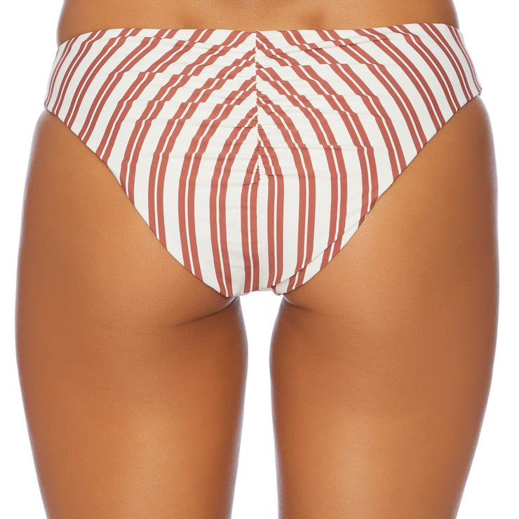 Joy Rider Ruched Retro Bikini Bottom