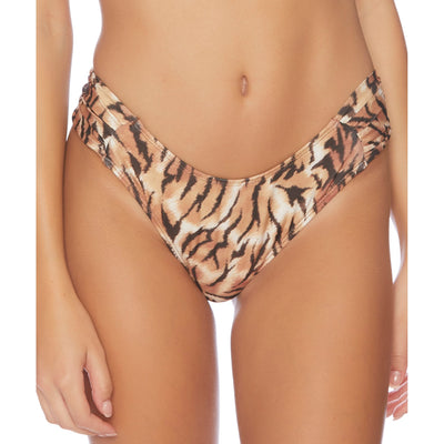 Tigers Eye Tab Side Bikini Bottom