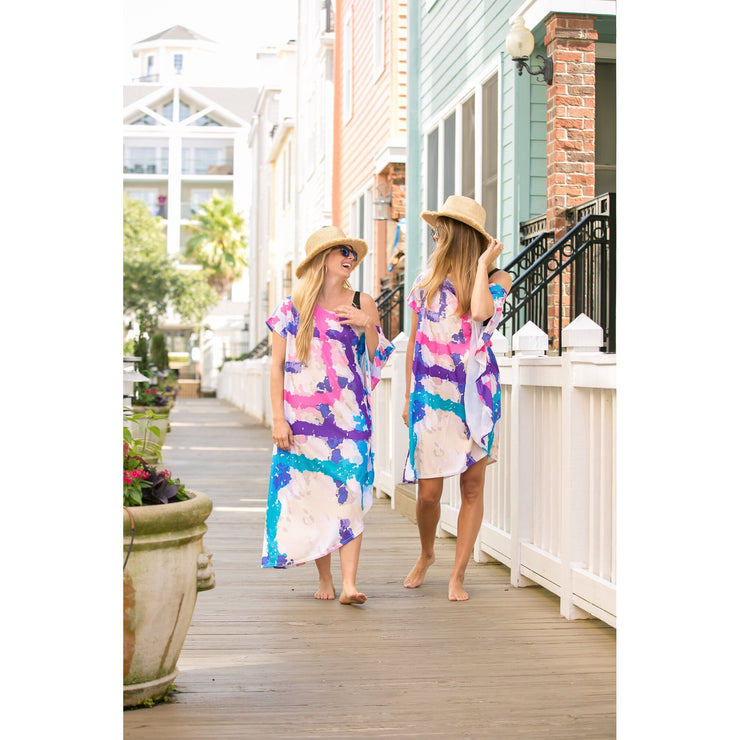 Dream Weaver Maxi Coastal Caftan