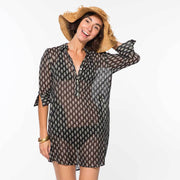 Buoy Black Beach Tunic