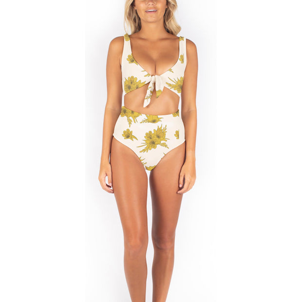 Golden Blossom Dakota Bikini Bottom