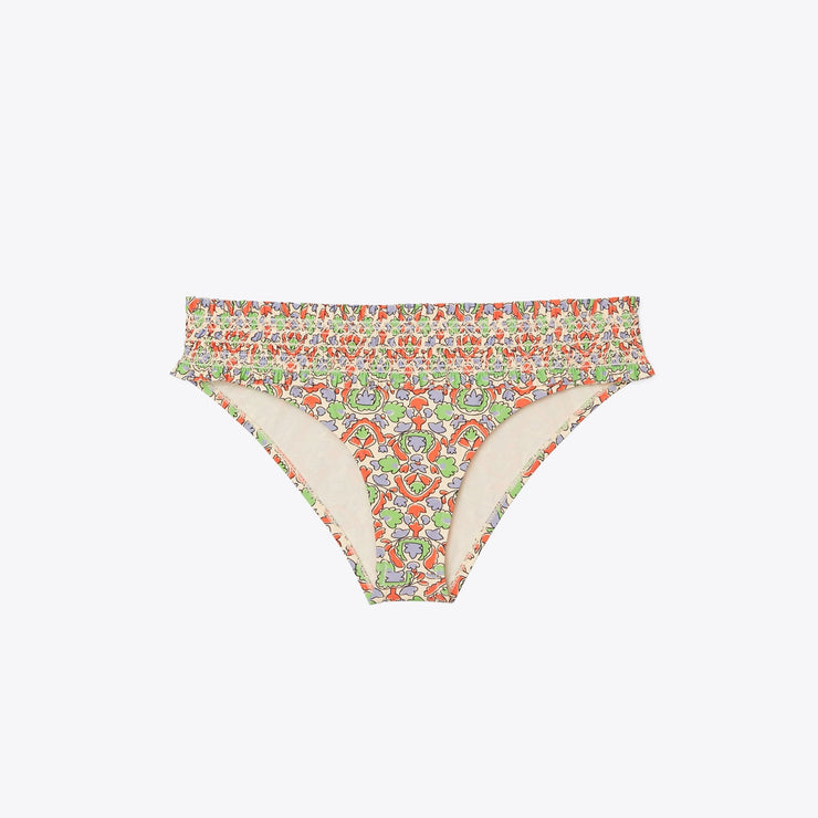 Costa Printed Smocked Hipster Bottom