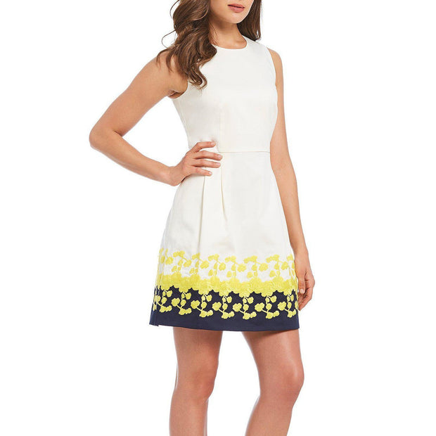 Climbing Bloom Embroidered Dress